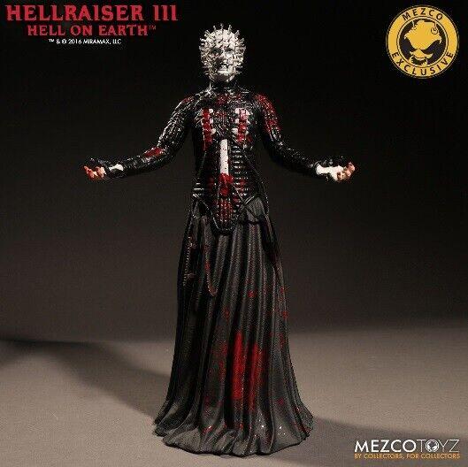 Hellraiser  III Hell on Earth Bloody Pinhead 12  cifra Exclusive Mezco  ordina ora goditi un grande sconto