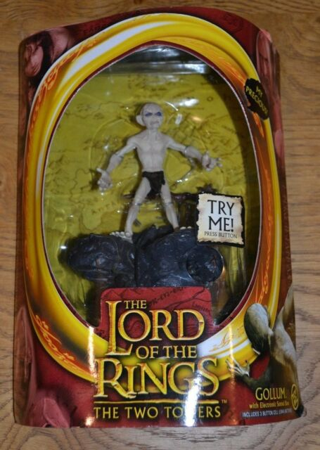 Lord of the Rings Two Towers Action Figure Gollum Toy Biz