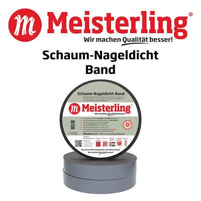 Band 50 mm x 30 m KARTON Nagel dichtband für USB // UDB Schaum Nageldicht