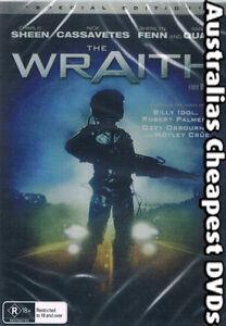 The-Wraith-DVD-NEW-FREE-POSTAGE-WITHIN-AUSTRALIA-REGION-ALL