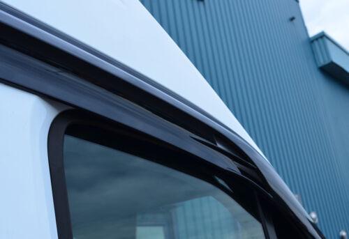 Viento desviadores de Ventana lateral//escudos de lluvia para ajuste FORD TRANSIT 2014+