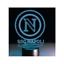 1-LAMPADA-NOTTURNA-A-LED-LOGO-SSC-NAPOLI-PRODOTTO-UFFICIALE miniatura 1
