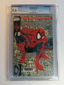 Spider-Man-1-CGC-9-6-PLATINUM-Edition-1990-Marvel-Comics-Todd-McFarlane