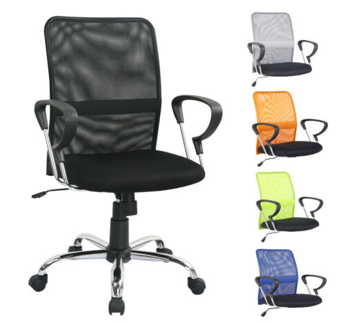 SixBros. Chaise de Bureau en Diffententes Couleur H-8078F
