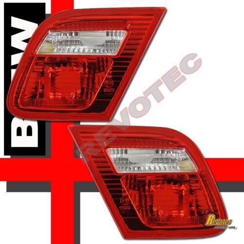 00 01 02 BMW E46 2Dr Coupe Inner Tail Trunk Lights Red Clear RH /& LH