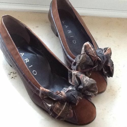 LARIO PUMPS  Ballerinas Echtleder Made in ITALY Gr. 36