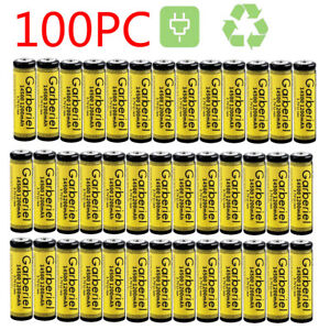 LOT-3-7V-1200mAh-Li-ion-Rechargeable-14500-Battery-Cell-For-Flashlight-Torch-USA