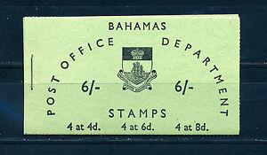 BAHAMAS 1965 BOOKLET SB5 6s.