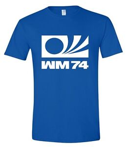 WM74 Germany World Cup 1974  Retro Football T-Shirt