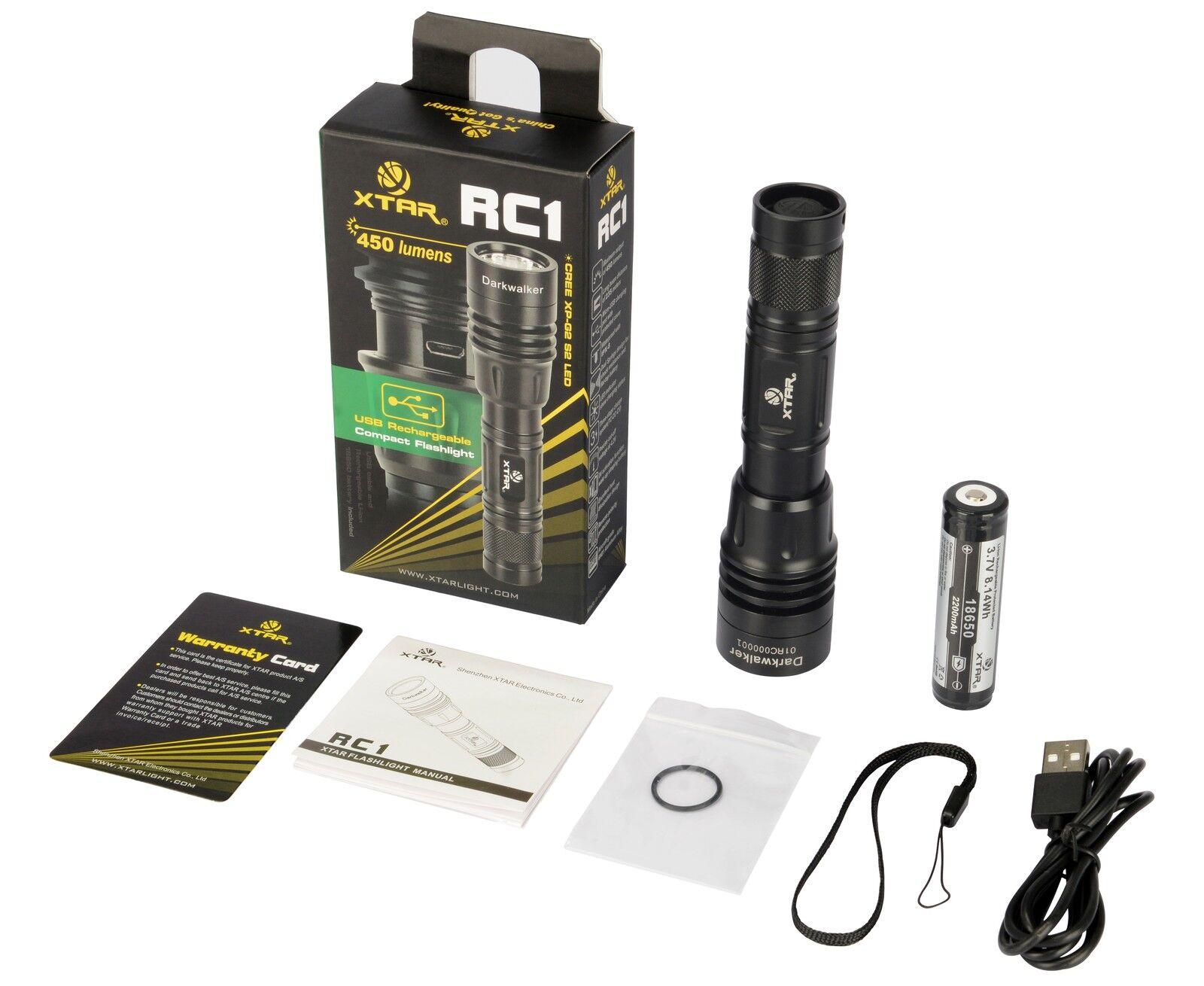 TORCIA XTARLIGHT RC1 450 LUMEN