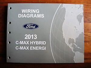 2013 Ford C-MAX Hybrid Energi Electrical Wiring Diagram ...