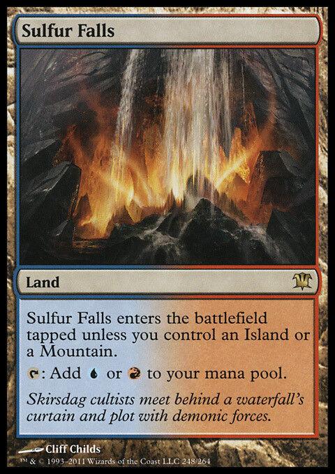 Sulfur Falls x4 4x 4x 4x Innistrad NM MTG 716205