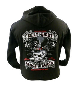 Billy Idol Idolize Yourself Zip Up Black Hoodie Sweatshirt Small New Official