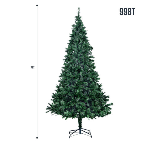 5FT 6FT 7FT Christmas Tree Artificial Pine Xmas Tree Latest Style Green Holiday