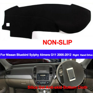 Details about Car Dash Mat Dashboard Cover For Nissan Bluebird Sylphy  2005-2009 2010 2011 2012
