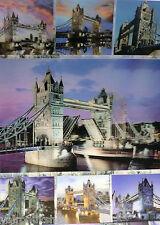 "3D LENTICULAR ART POSTER 'TOWER BRIDGE' 16"" X 12"" AMAZING DETAIL"