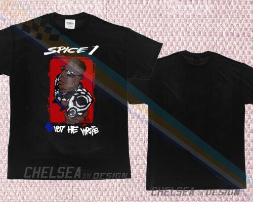 Gildan 1993 spice 1 187 he wrote jive bag backpack vtg Rap shirt 90s E-40 2pac