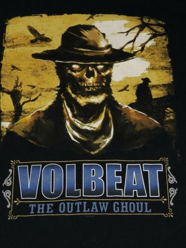 Volbeat The Outlaw Ghoul North America 2013 Concer
