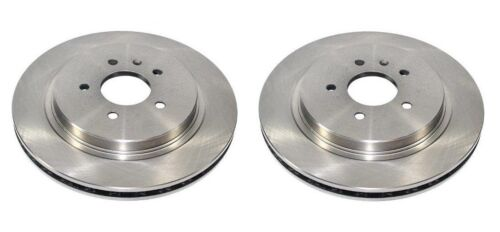 FRONT 2 BRAKE DISCS SET NEW FOR TOYOTA AVENSIS 2.2 D4D DIESEL 2005-2008