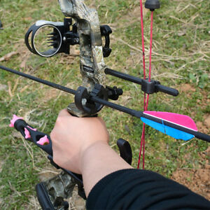 Details about Black Y Brush Arrow Rest for Compound Bow Recurve Bow Hunting  and Archery RH LH
