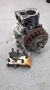 Vintage Briggs & Stratton 5.0 HP Engine 130202 Mini bike Go Kart Tiller crank