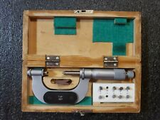 Polish Made Vis 1 2 Thread Pitch Micrometer With Ratchet Stop