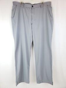 Under-Armour-Gray-Match-Play-Straight-Leg-Golf-Pants-1248089-035-Men-039-s-40-30-NWT