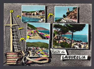 SALUTI-DA-LAIGUEGLIA-SAVONA-CARTOLINA-FG-VG-1960-ED-S-SEMINO