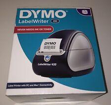 Dymo Lw 450 Labelwriter Blacksilver Thermal Desktop Printer New