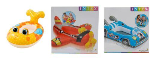 Kajaks Intex Aufblasbar Schwimmbad Schwimmer Pool Cruiser Shark Flugzeug oder Rennauto Bootsport