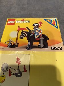 Lego® Castle Minifigur Black Knight aus Set 6009