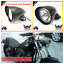 5-3-4-034-Matt-black-billet-alloy-bullet-headlight-Harley-Sportster-Chopper-Bobber thumbnail 3