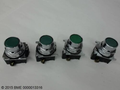 - USED N.O A600 4  CUTLER HAMMER GREEN PUSH BUTTONS P800