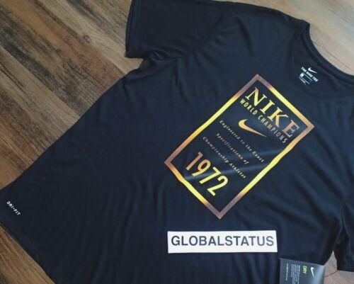NIKE MENS WORLD CHAMPIONS GOLD BANNER DRI FIT BASKETBALL SHIRT 913523 010 SZ 2XL