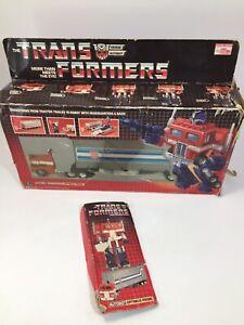 1984 Transformer G1 Optimus Prime (Hasbro, 5796) In Box Sweet Condition