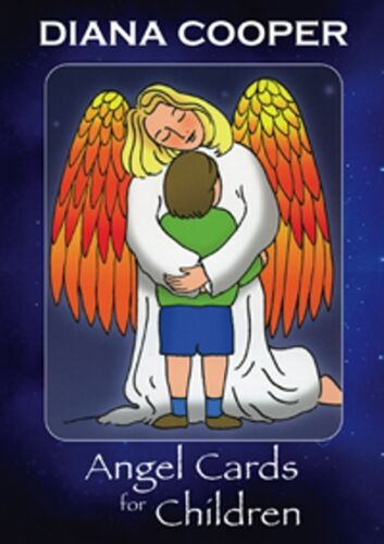 1 of 1 - Angel Cards for Children by Diana Cooper (NEW)
