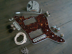 s l300 jazzmaster guitar full replacement hardware pickguard wiring kit Fender Guitar Wiring Diagrams at aneh.co