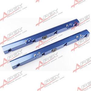 HOLDEN-LS1-Billet-Aluminum-Fuel-Rail-Kits-Blue