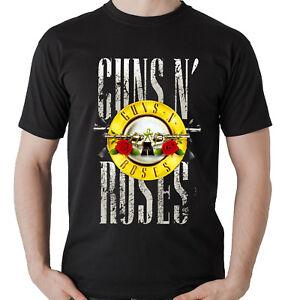 CAMISETA-GRUPO-MUSICAL-GUNS-AND-ROSES-CON-TEXTO-EN-GRANDE-HOMBRE-MUJER
