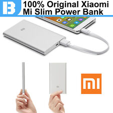 100% Original Xiaomi Power Bank 5000mAh Slim 9.9mm External Battery Pack Charger