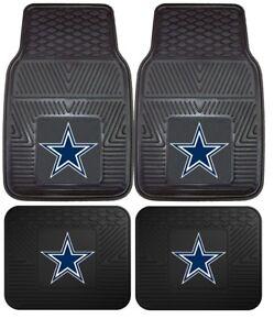 Dallas-Cowboys-Heavy-Duty-Vinyl-Car-Truck-SUV-Auto-Floor-Mats