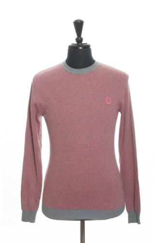 Fred Perry Made in Italy Strawberry Red Patterned
