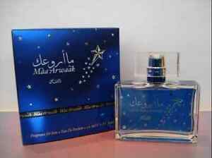 Maa Arwaak By Rasasi 50ml Eau De Parfum For Men (Woody/Aromatic/Lemon/Musk)