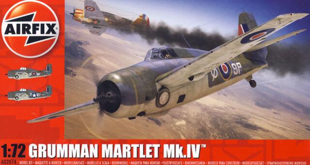 Airfix Grumman Martlet Mk.iv Operación Torch No.888 Nuevo 1:72
