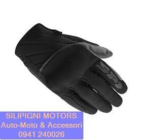 SPIDI-SQUARED-B73-Nero-026-Guanto-da-Moto-in-tessuto-con-Rinforzi-Protezioni