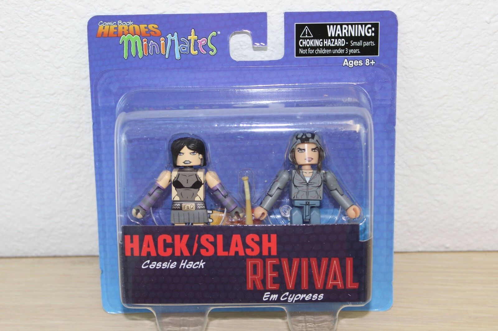 Comic Book Heroes Minimates Revival Hack//Slash Cassie Hack Cypress Action Figure