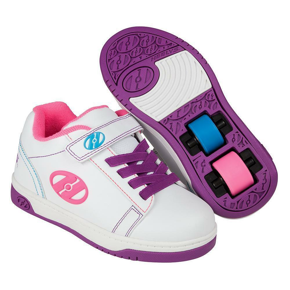 Heelys Dual Up White Purple  Neon  just for you