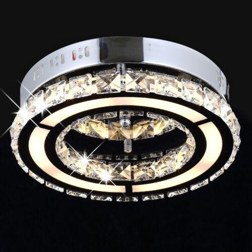 12W LED Kristall Deckenleuchte Leuchte Deckenlampe Lampe Deckenlicht Beleuchtung