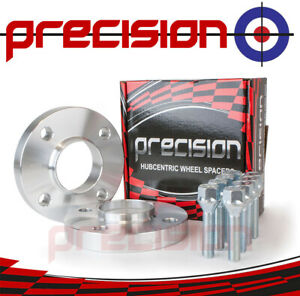 Spacers-20mm-Hubcentric-1-Pair-Bolts-Citroen-Berlingo-1996-11-Aftermarket-Alloys