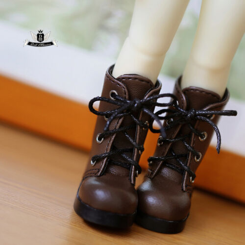 1//6 BJD Shoes Yosd Brown Boots Dollfie DREAM DOD SOOM DIM MID Dollmore AOD Shoes